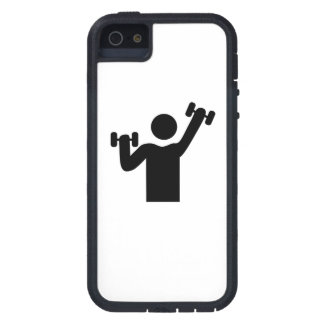 Weightlifting Gym Icon iPhone 5 Case