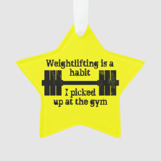 Weightlifting Habit