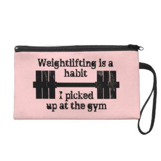 Weightlifting Habit Wristlet Purses