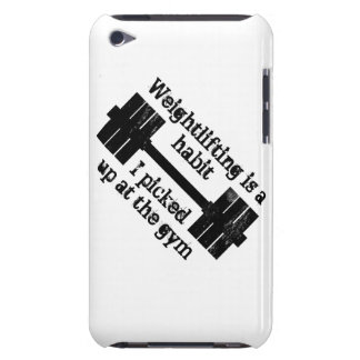 Weightlifting Habit Barely There iPod Cover