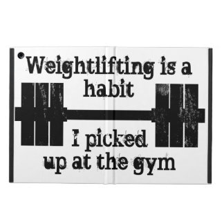 Weightlifting Habit Case For iPad Air