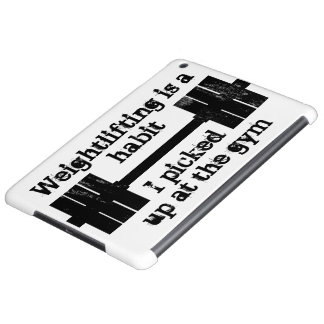 Weightlifting Habit iPad Air Covers