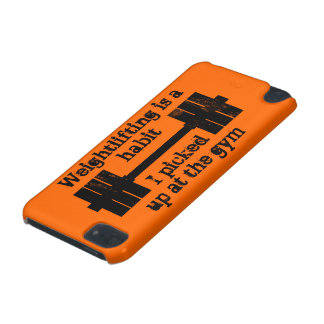 Weightlifting Habit iPod Touch (5th Generation) Cover