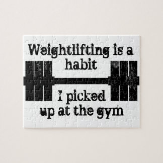 Weightlifting Habit Jigsaw Puzzle