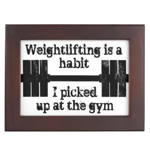 Weightlifting Habit Memory Box