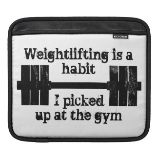 Weightlifting Habit Sleeve For iPads