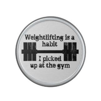 Weightlifting Habit Speaker