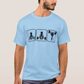 Weightlifting In Symbols T-Shirt