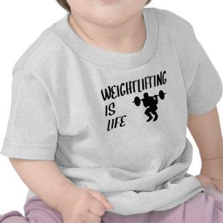 Weightlifting Is Life Tee Shirt