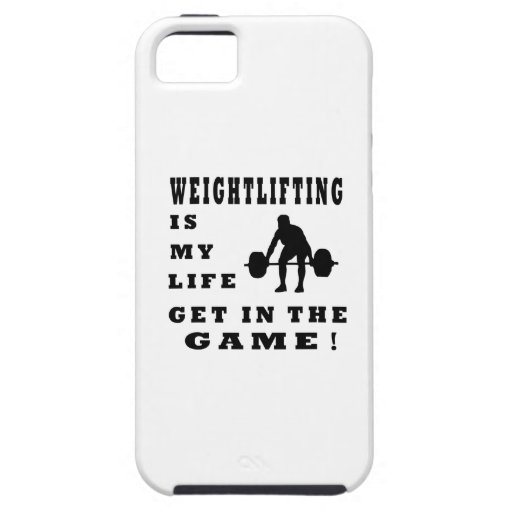 Weightlifting Is My Life iPhone 5 Cover