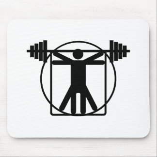 Weightlifting Mouse Pads