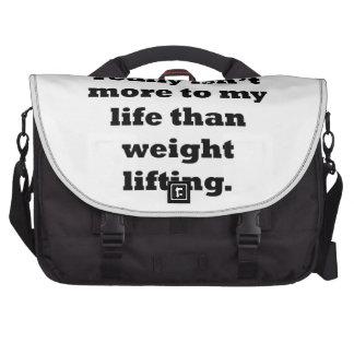 Weightlifting My Life Laptop Computer Bag