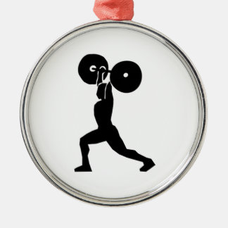 Weightlifting Ornament