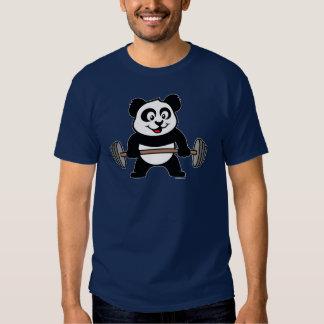 Weightlifting Panda Shirts