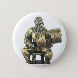 Weightlifting Pinback Button
