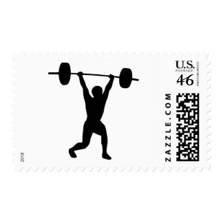 Weightlifting Stamps