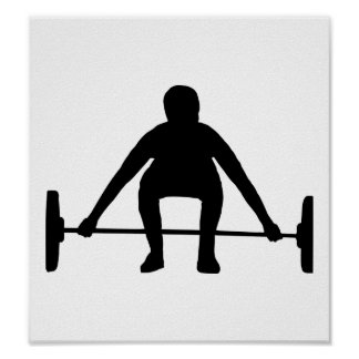 Weightlifting Posters