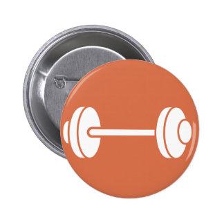 Weightlifting Powerlifting Pinback Button