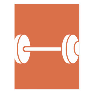Weightlifting Powerlifting Postcard