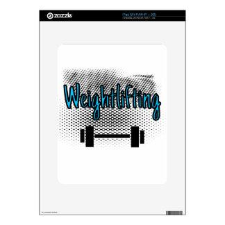 Weightlifting Skin For iPad