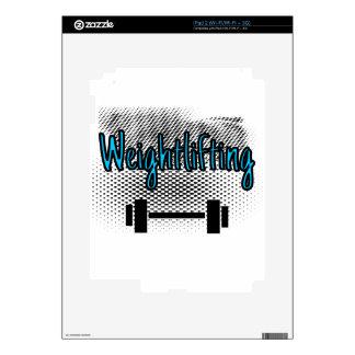 Weightlifting Skin For iPad 2