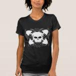 Weightlifting Skull Shirts