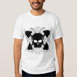 Weightlifting Skull Tee Shirts