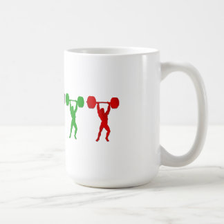 Weightlifting Snatch Clean and Jerk sports Coffee Mug