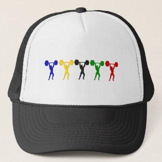 Weightlifting Snatch Clean and Jerk sports Trucker Hat