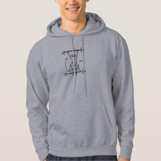 Weightlifting Snatch RESIZED Hooded Sweatshirt