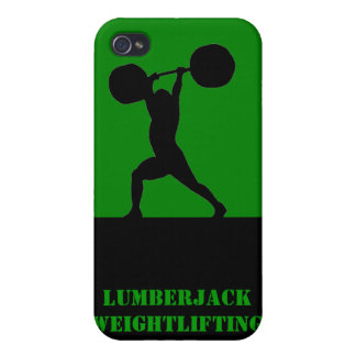 Weightlifting team cases for iPhone 4