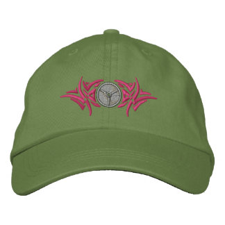 Weightlifting Tribal Embroidered Baseball Cap