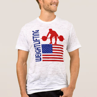 Weightlifting United States T-Shirt