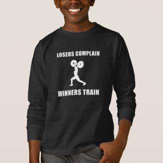 Weightlifting Winners Train T-Shirt