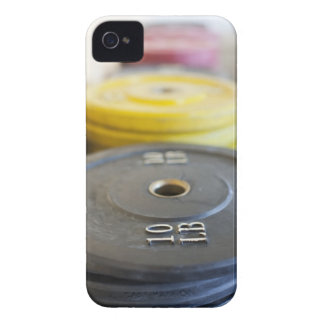 Weights at Gym, Newport Beach, Orange County, iPhone 4 Case-Mate Case