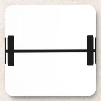 Weights Beverage Coaster