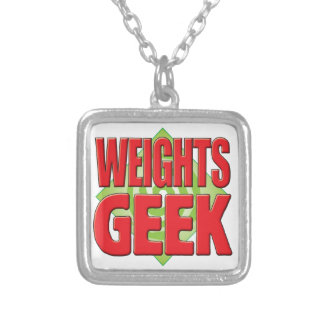 Weights Geek v2 Personalized Necklace
