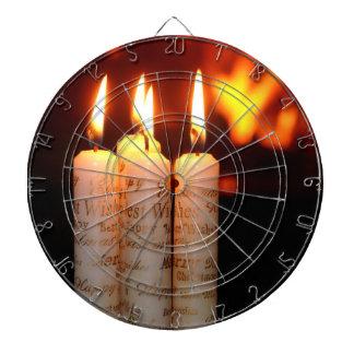 Weihnacht, adviento, candelas ardientes blancas co