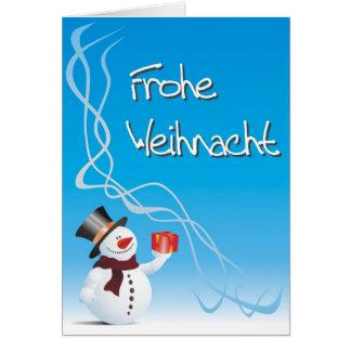 Weihnacht alegres… Merry Christmas