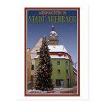 Weihnachten en Auerbach Postal