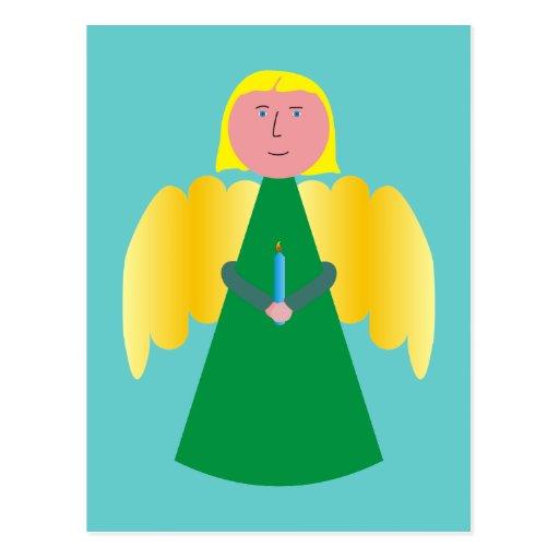 Weihnachtsengel ángel christmas angel postal