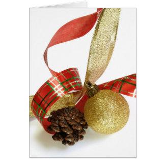 Weihnachtskarte Tarjeta De Felicitación