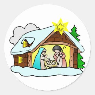 Weihnachtskrippe christmas crib