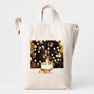 Weihnachtsleuchten Duck Bag