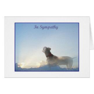 Weim Sympathy Card
