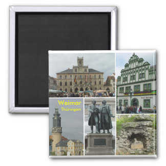 Weimar 2 Inch Square Magnet