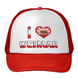 Weimar, CA Mesh Hat