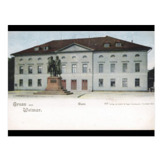 Weimar Hoftheater Postcard