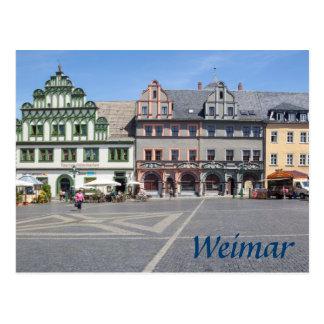 Weimar Markt photo Postcard