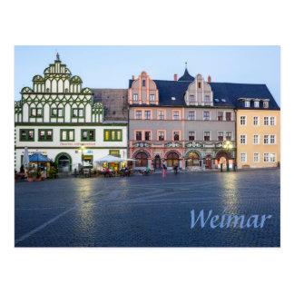 Weimar Marktplatz photo Postcard